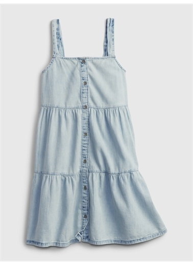 Gap Denim Elbise Mavi
